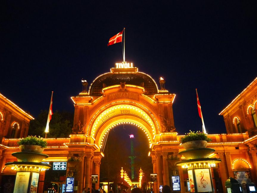 Canal cruise and TivoliGardens